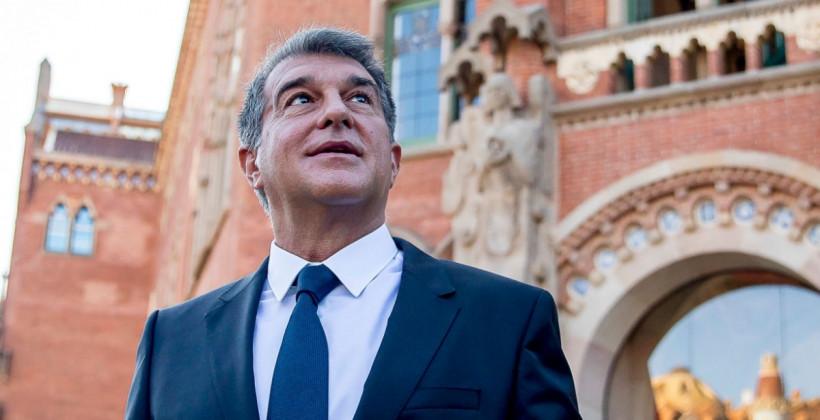 Жоан Лапорта готов официально вступить в должность президента Барселоны