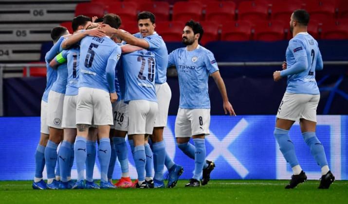 Манчестер Сити в результативном матче справился с Ньюкаслом