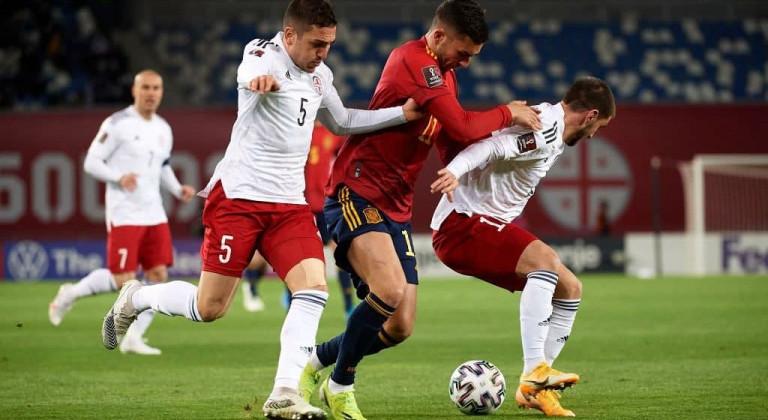 Испания добыла волевую победу над Грузией, забив на 92-й минуте