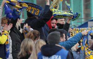 Атмосфера кубкового матча между Витебском и БАТЭ (видео)