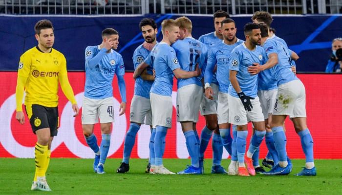 Манчестер Сити на выезде одолел Боруссию Д и пробился в полуфинал Лиги чемпионов