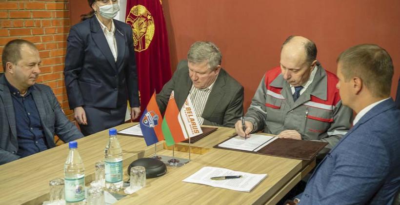 МТЗ — новый генеральный партнер Минска