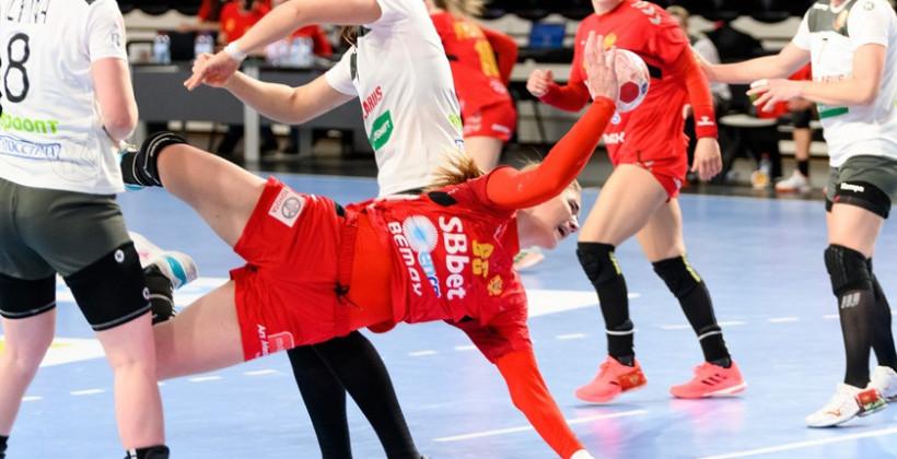 Сборная Беларуси по гандболу проиграла первый матч плей-офф отбора на чемпионат мира