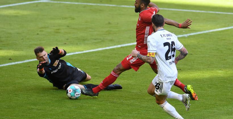 Бавария упустила домашнюю победу в матче с Унионом Берлином
