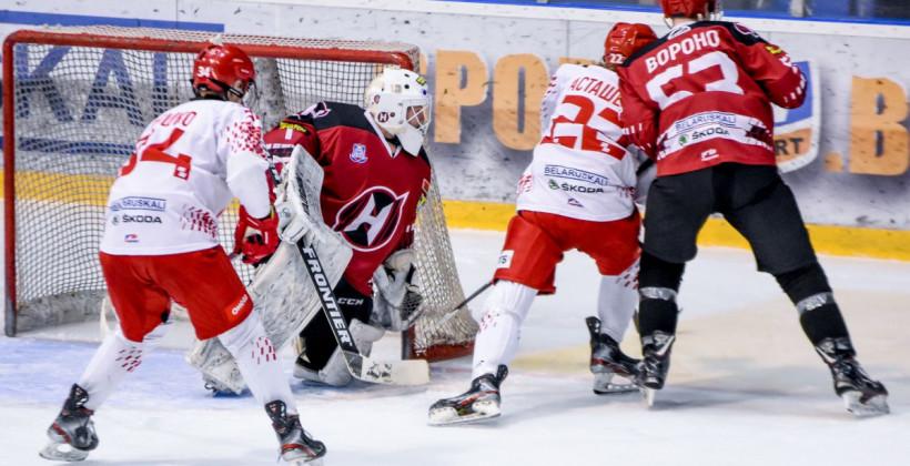 Неман в овертайме оказался сильнее юниорской сборной Беларуси в товарищеском матче