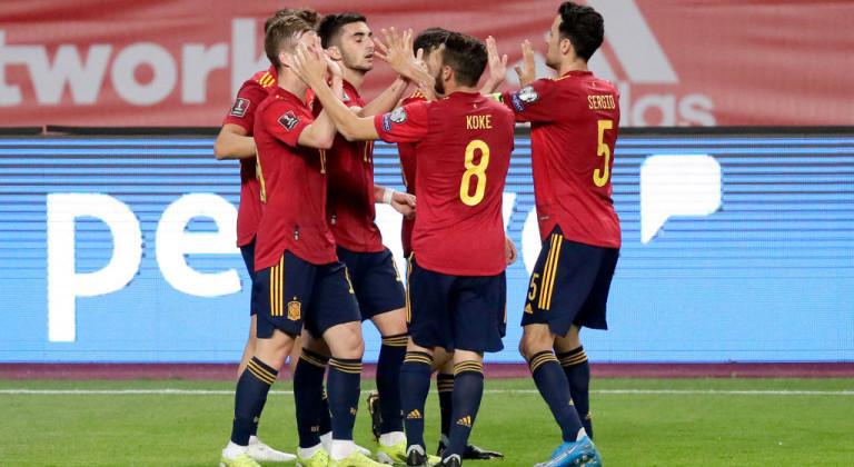 Испания не испытала проблем в матче против Косово в рамках отбора на ЧМ2022