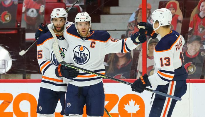 Даллас дожал Каролину в овертайме, победа Монреаля над Калгари и ещё шесть результатов матчей НХЛ