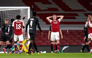 Арсенал в концовке упустил победу над Славией в первом матче четвертьфинала Лиги Европы