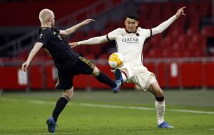 Рома в концовке дожала Аякс в первой игре четвертьфинала Лиги Европы