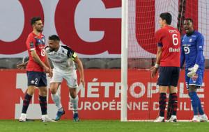 Лилль в концовке матча спас ничью в домашнем матче против Монпелье