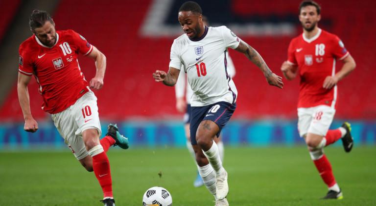Англия на последних минутах вырвала победу у сборной Польши