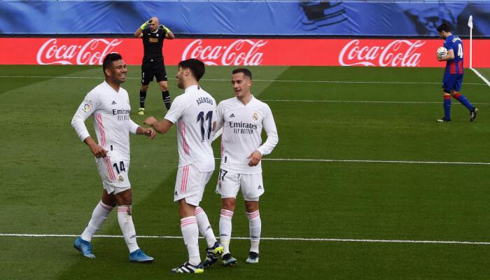 Реал дома не испытал проблем в матче против Эйбара