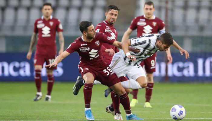 Ювентус не выезде не сумел обыграть Торино