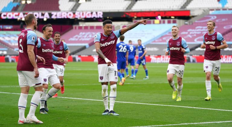 Лестер забил два, но не успел отыграться в гостях с 0:3 в матче против Вест Хэма