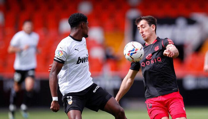 Валенсия и Реал Сосьедад разыграли между собой боевую ничью