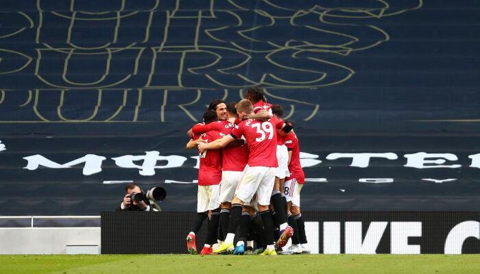 Манчестер Юнайтед добыл волевую победу в гостевом матче против Тоттенхэма