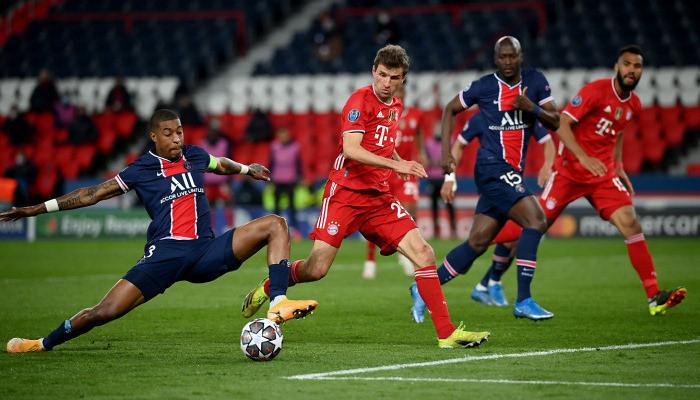 Бавария минимально обыграла ПСЖ, но этого не хватило для выхода в полуфинал Лиги Чемпионов