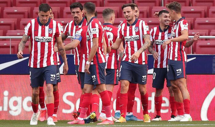Атлетико с крупным счётом разгромил Эйбар