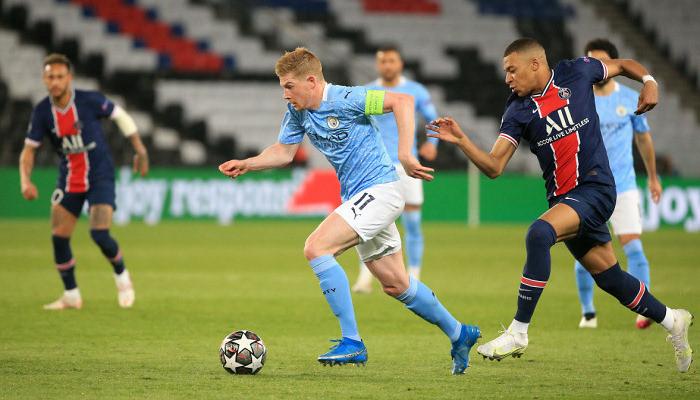 Манчестер Сити на выезде обыграл ПСЖ в первом матче полуфинала Лиги чемпионов