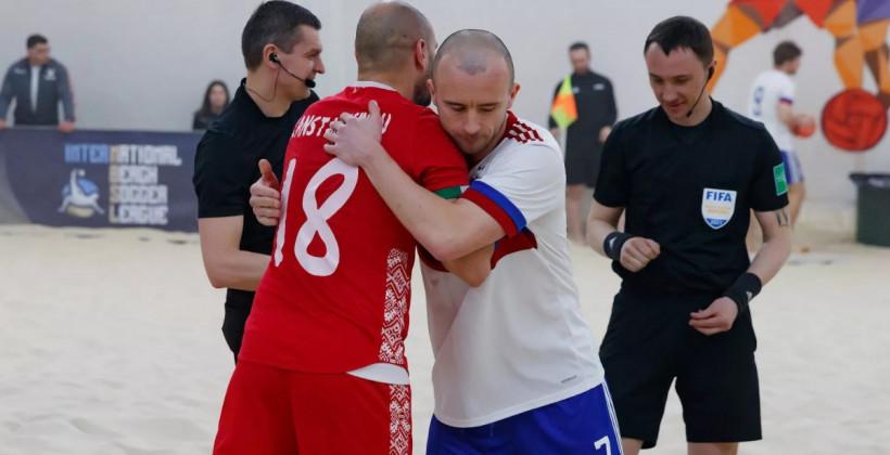 Сборная Беларуси по пляжному футболу примет участие в турнире в Питере