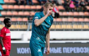 Денис Лаптев признан лучшим игроком пятого тура высшей лиги (видео)