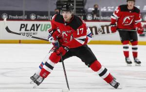 Егор Шарангович набрал 20-е очко в НХЛ, но Нью-Джерси в четвёртый раз проиграл Рейнджерс