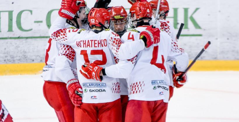 Стал известен состав юниорской сборной Беларуси на матч против Швейцарии