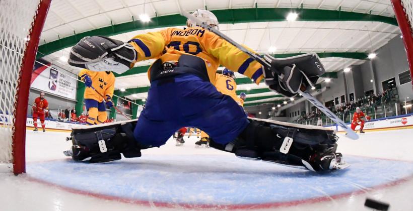 Голкипер юниорской сборной Швеции: «Мы сдержали напор белорусов, «выключили» их в нашей зоне»