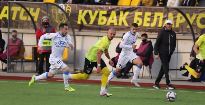 Шахтер минимально одолел Ислочь в первом матче полуфинала Кубка Беларуси