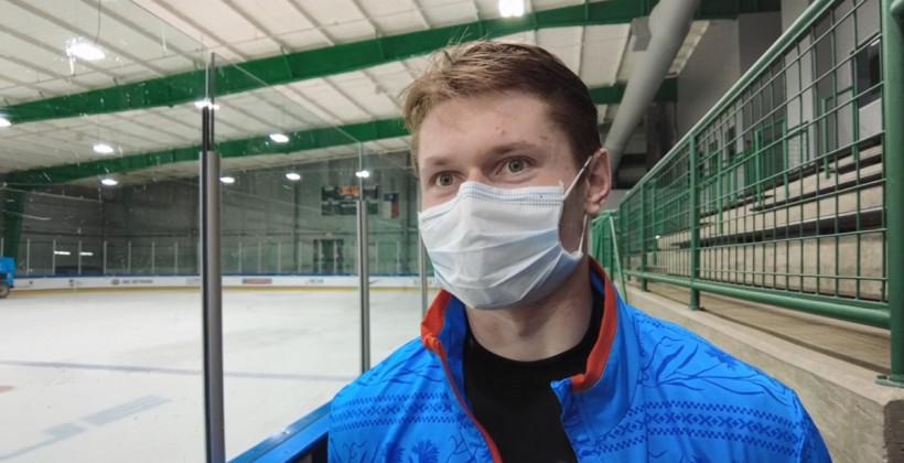 Илья Морозов стал автором дебютной шайбы сборной Беларуси в плей-офф ЮЧМ-2021
