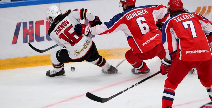 Авангард в овертайме дожал ЦСКА и сравнял счет в финале Кубка Гагарина