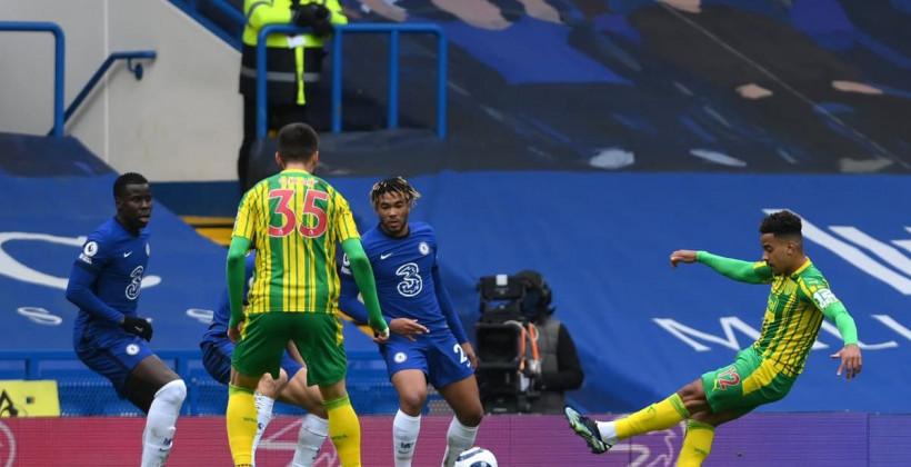 Вест Бромвич сенсационно обыграл в гостевом матче Челси