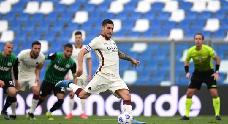 Рома и Сассуоло не выявили победителя в результативном матче