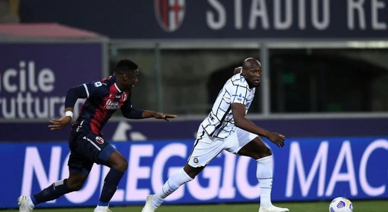 Интер не без труда одолел Болонью и упрочил лидерство в Серии А