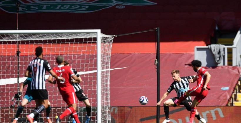 Ливерпуль упустил победу в матче против Ньюкасла