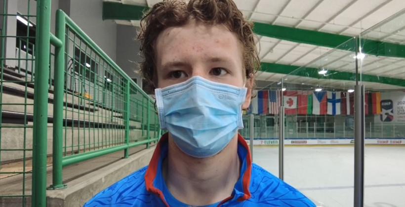 Максим Сущинский: «За три матча на чемпионате почувствовали уверенность. Вышли спокойно, показали свою игру»