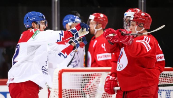 ЧМ2021: Россия в упорной борьбе обыграла Чехию, Германия забила 9 шайб в ворота Италии