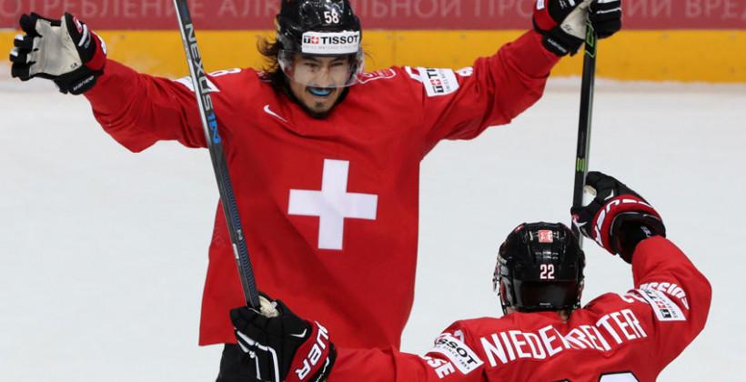 Швейцария минимально обыграла Данию на чемпионате мира-2021