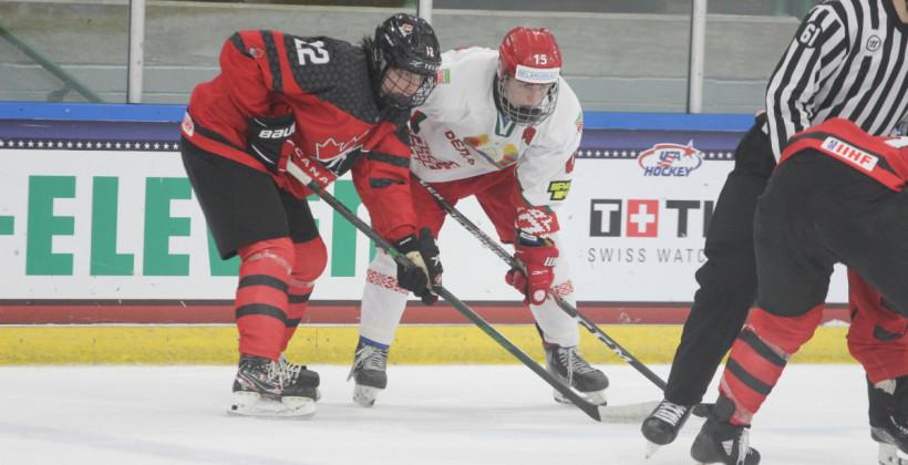 Сборная Беларуси в упорном матче уступила канадцам