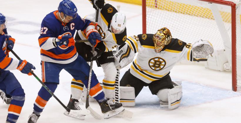 Нью-Йорк Айлендерс справился с Бостон Брюинз в шестом матче серии