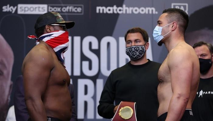 Джозеф Паркер победил Дерека Чисору, восстановившись от нокдауна в первом раунде