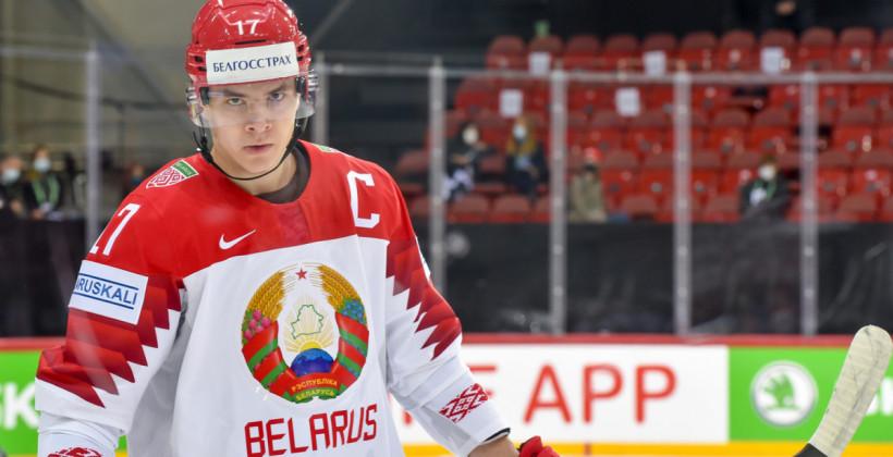 Егор Шарангович станет капитаном сборной Беларуси на матчах олимпийской квалификации