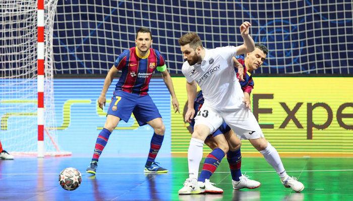 Стали известны финалисты футзальной Лиги чемпионов