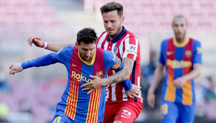 Атлетико на выезде сыграл вничью с Барселоной и сохранил первое место в таблице
