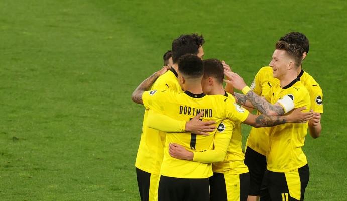 Боруссия Дортмунд заняла третье место в итоговой таблице Бундеслиги