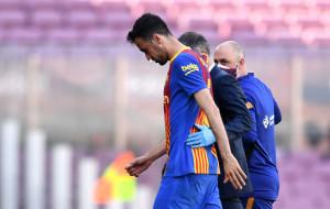 Серхио Бускетс сломал челюсть в матче против Атлетико