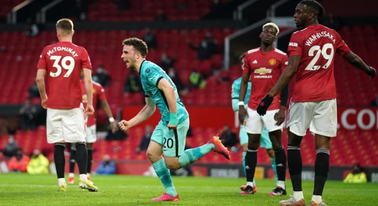 Ливерпуль обыграл Манчестер Юнайтед и приблизился к зоне Лиги чемпионов