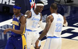 Победа Лейкерс, виктория Бруклина и ещё четыре результата матча НБА