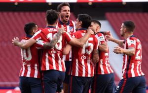Луис Суарес принёс Атлетико волевую победу над Осасуной в одном шаге от чемпионства в Ла Лиге