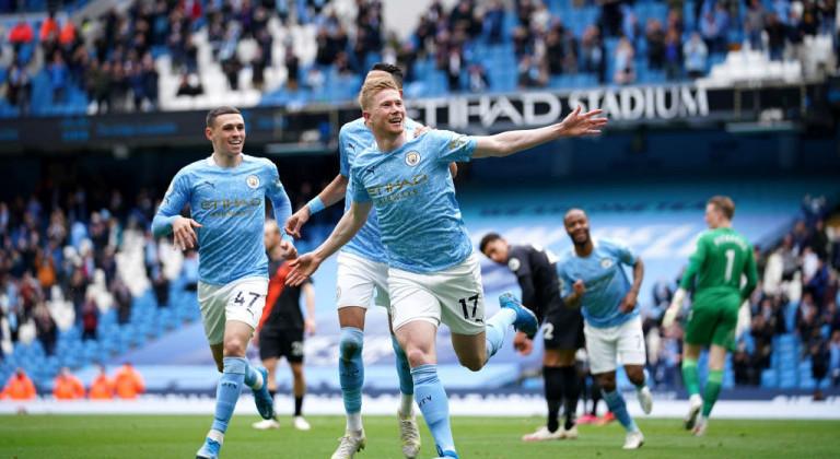 Манчестер Сити разгромил Эвертон в последнем туре АПЛ